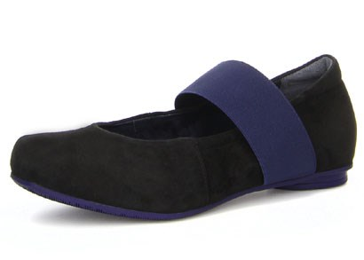 Foi Mary Jane Slip On / Black/Kombi