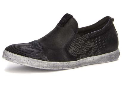 Kenidi Slip On Shoe / Black/Kombi